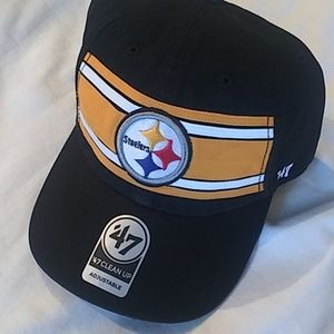 Pittsburgh Steelers Relaxed Fit Striped Hat Cap